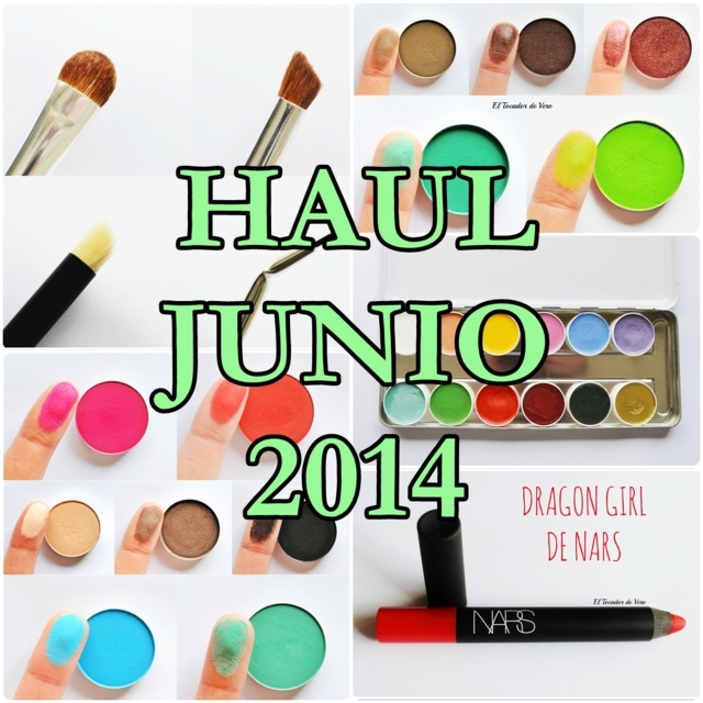 Haul junio 2014: Martora, Coastal Scents y como no, Nars