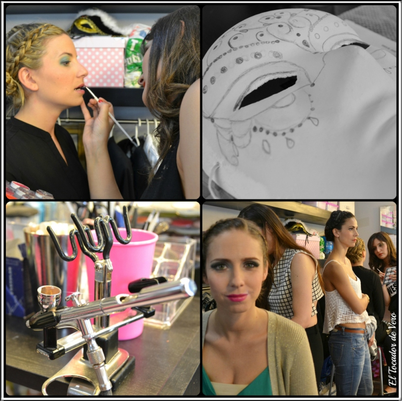 preparacion Beauty Lab Night 2014