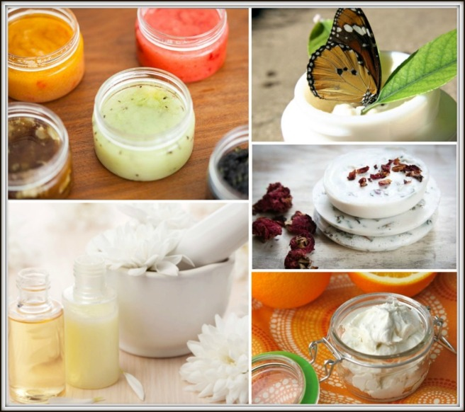 collage cosmetica natural