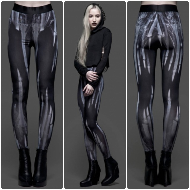 collage leggings radiografia