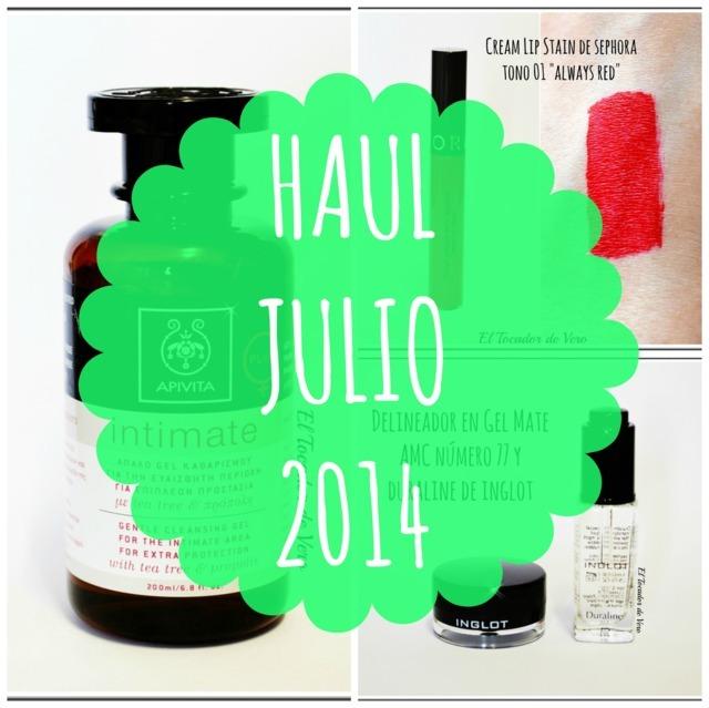 Haul Julio 2014: Inglot, Sephora y Apivita