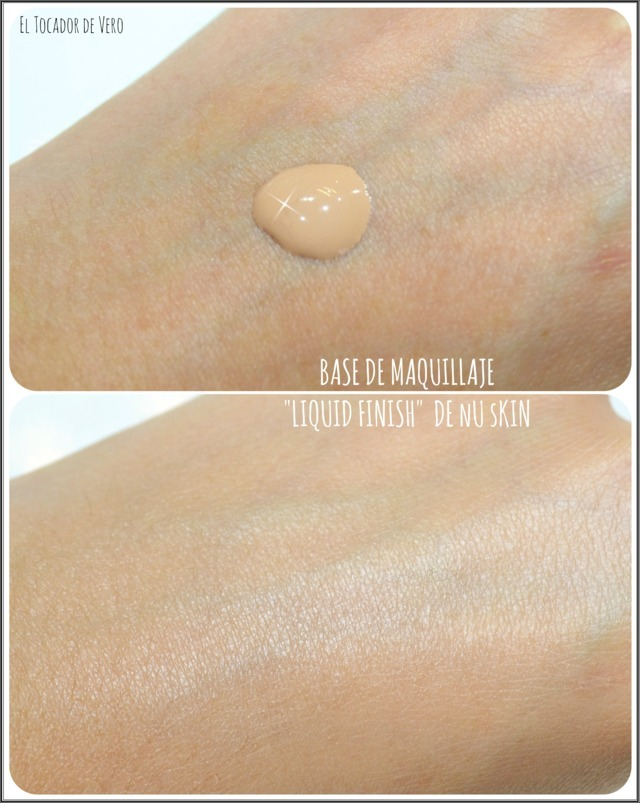 base-maquillaje-liquid-finish-nuskin-swatches eltocadordevero