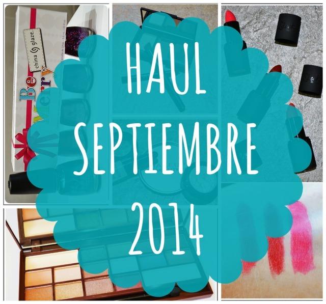 Haul Septiembre 2014: Maquillalia y Nars