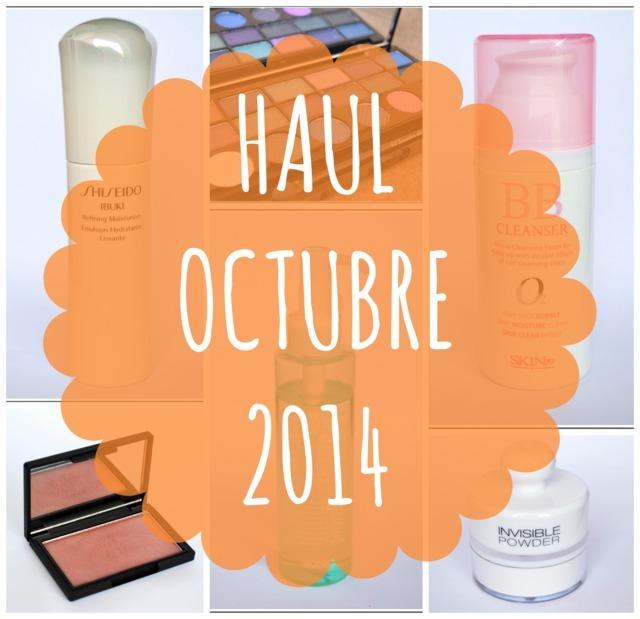 Haul Octubre 2014: Skin79, Shiseido, Kiko y Maquillalia
