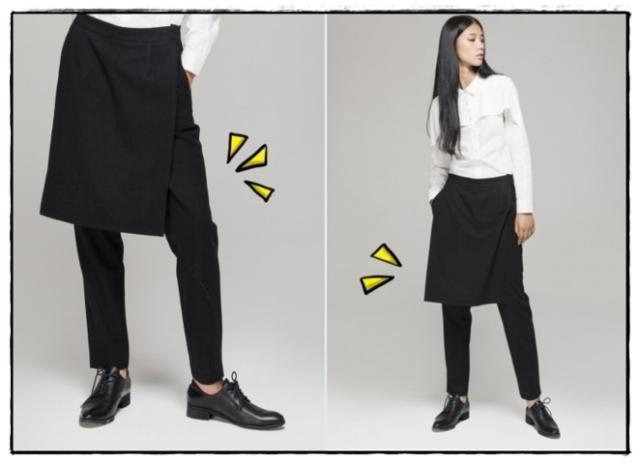falda-pantalon-dafuq eltocadordevero