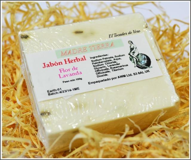Jabón-Herbal-Flor-Lavanda-Mother-Earth eltocadordevero