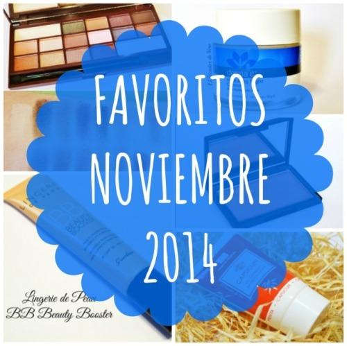 Favoritos Noviembre 2014