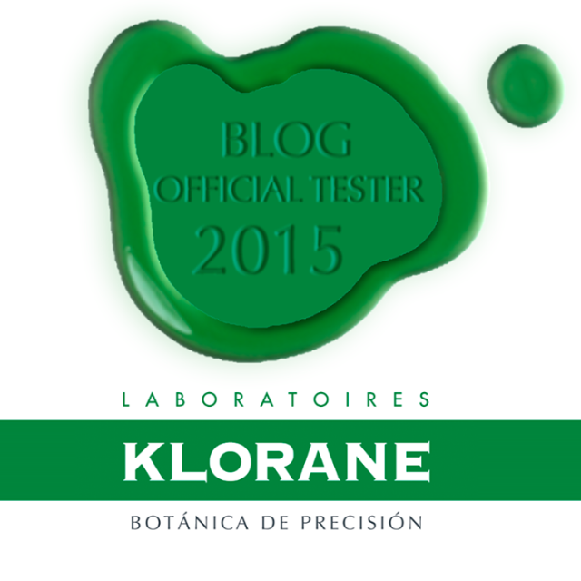 Official tester Klorane 2015