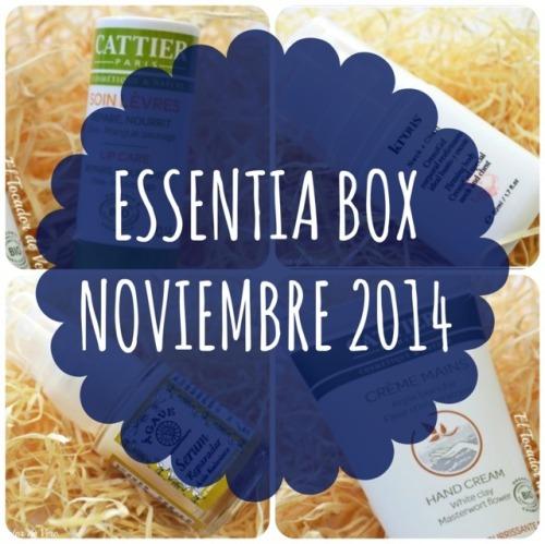 Essentia Box Noviembre 2014