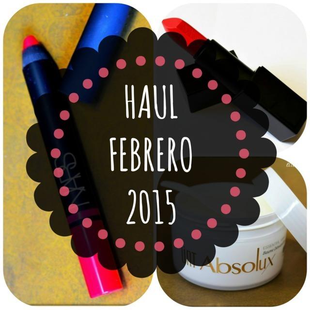 Haul Febrero 2015: Nars y más Nars (y algo de UNT)
