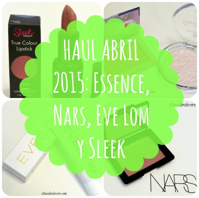 Haul Abril 2015: pecando con ediciones limitadas y Nars