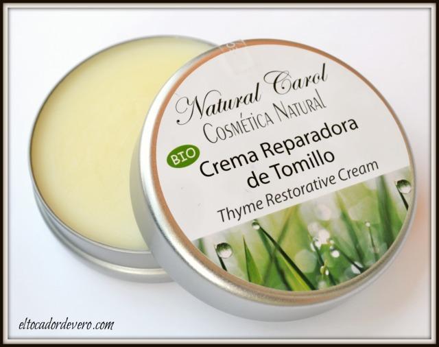 crema-reparadora-tomillo-natural-carol eltocadordevero