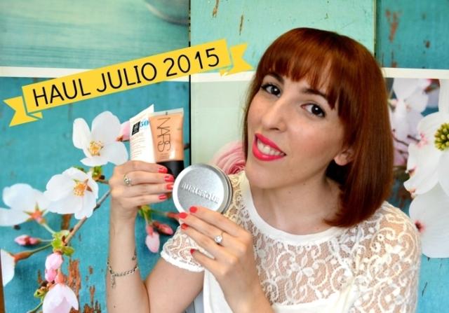 Haul Julio 2015: Apivita, Nars y Burlesque