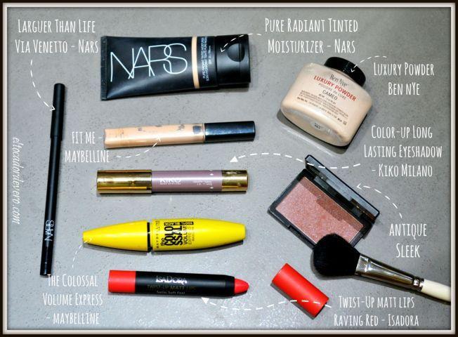 lista-en-cinco-minutos-maquillaje-oficina-productos-utilizados eltocadordevero