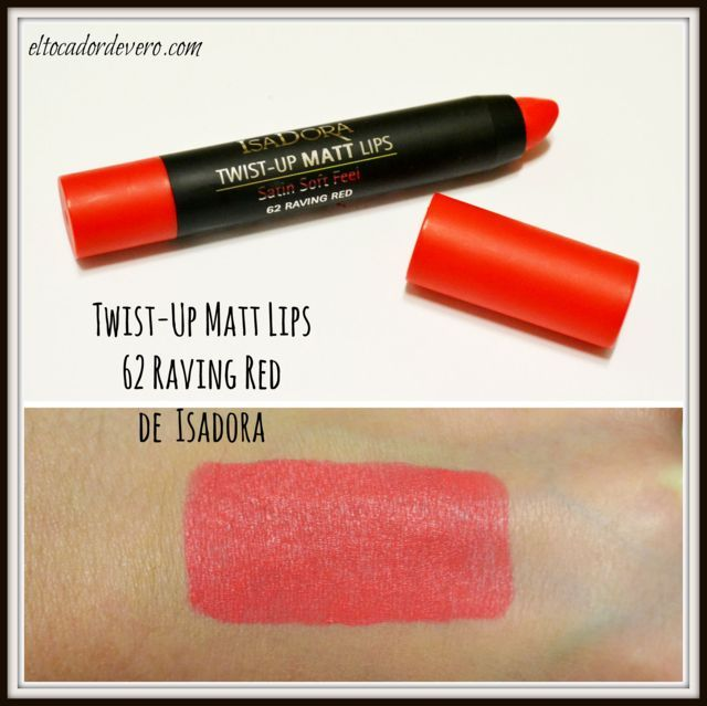 Twist-Up Matt Lips Isadora eltocadordevero