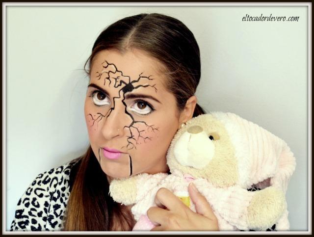 tutorial-maquillaje-halloween-muñeca-rota-1 eltocadordevero
