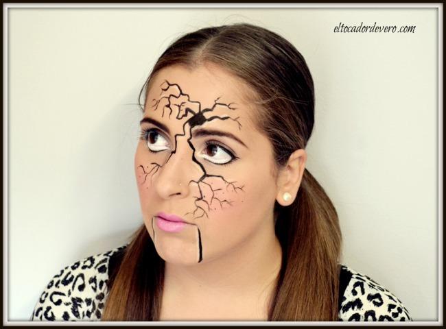 Tutorial de Maquillaje para Halloween Mueca Rota El Tocador de Vero