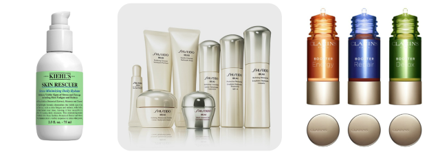 piel-estresada-tratamiento-skin-rescuer-kiehls-ibuki-shiseido-booster-clarins eltocadordevero
