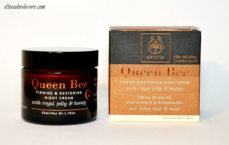crema-noche-queen-bee-apivita-2 eltocadordevero