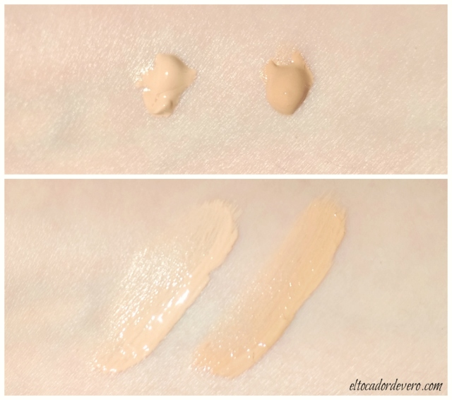 crema-color-SPF50-antimanchas-bellaaurora-swatches eltocadordevero