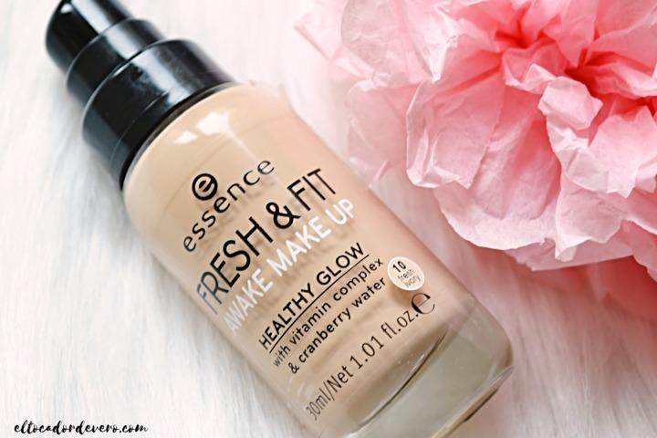 9882a269e REVIEW: base de maquillaje Fresh & Fit Awake Makeup de Essence
