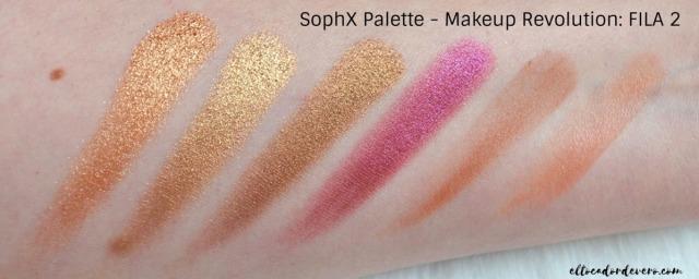 SophX Palette - Makeup Revolution_ FILA 2 eltocadordevero