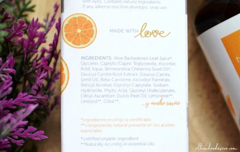fluido_iluminador_vitamin_C_naay_ingredientes eltocadordevero